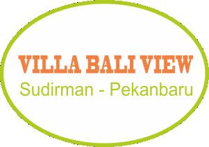 villa bali view sudirman pekanbaru